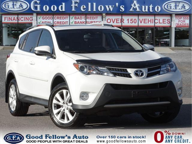 2015 Toyota RAV4 LIMITED MODEL, SUNROOF, LEATHER & POWER SEATS, AWD