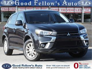 Used 2018 Mitsubishi RVR SE MODEL, REARVIEW CAMERA, HEATED SEATS, 4WD for sale in Toronto, ON