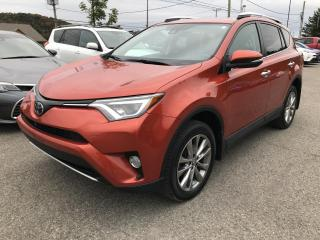 Used 2016 Toyota RAV4 Traction intégrale 4 portes Limited for sale in Val-David, QC