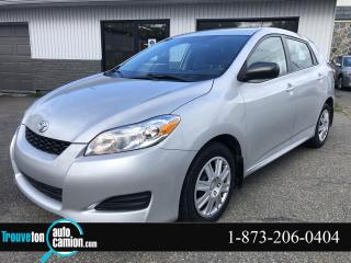 Used 2014 Toyota Matrix automatique FWD for sale in Shawinigan, QC