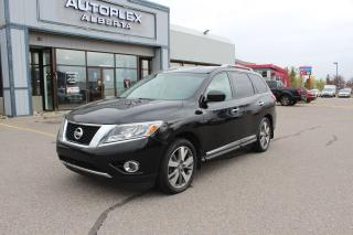 Used 2013 Nissan Pathfinder Platinum for sale in Calgary, AB