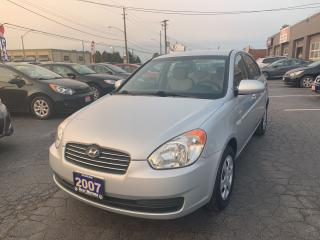 Used 2007 Hyundai Accent GL for sale in Hamilton, ON