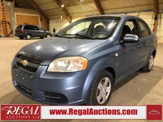 Used 2007 Chevrolet Aveo LS 4D Sedan for sale in Calgary, AB