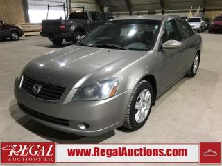 Used 2006 Nissan Altima S 4D Sedan for sale in Calgary, AB
