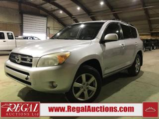 Used 2007 Toyota RAV4 Limited 4D Utility 4WD for sale in Calgary, AB