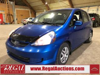 Used 2008 Honda Fit 4D Hatchback for sale in Calgary, AB