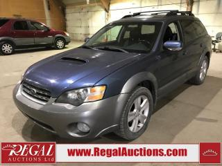 Used 2005 Subaru Outback XT 4D Wagon AWD for sale in Calgary, AB
