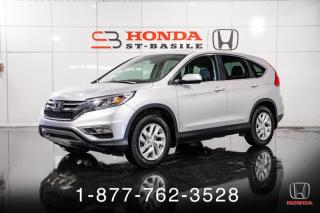 Used 2016 Honda CR-V EX-L + AWD + CUIR + TOIT + WOW! for sale in St-Basile-le-Grand, QC