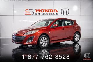 Used 2010 Mazda MAZDA3 GT + HATCHBACK + BAS KILOS + WOW! for sale in St-Basile-le-Grand, QC