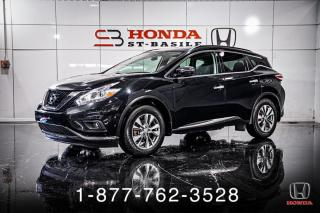 Used 2017 Nissan Murano SV + AWD + PANO + NAVI + WOW! for sale in St-Basile-le-Grand, QC