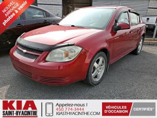 Used 2010 Chevrolet Cobalt LT ** GR ÉLECTRIQUE + A/C for sale in St-Hyacinthe, QC