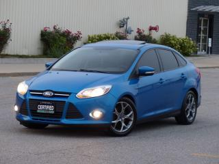 Used 2014 Ford Focus LEATHER,NAVIGATION,SPORT RIMS,FULLY LOADED,CERTIFI for sale in Mississauga, ON