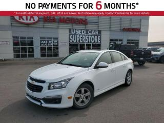 Used 2015 Chevrolet Cruze LT, Sunroof, Remote Starter, Bluetooth. for sale in Niagara Falls, ON