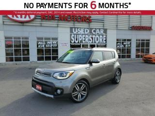 Used 2019 Kia Soul EX Tech, NAV, Sunroof, Leather, Blind Spot Sensors for sale in Niagara Falls, ON