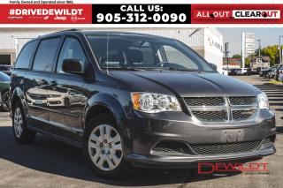 Used 2016 Dodge Grand Caravan SXT | ONE OWNER | BLUETOOTH for sale in Hamilton, ON