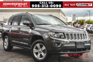 Used 2015 Jeep Compass HIGH ALTITUDE | LEATHER | SUNROOF | 4X4 | for sale in Hamilton, ON