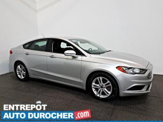 Used 2018 Ford Fusion SE AIR CLIMATISÉ - Caméra de Recul for sale in Laval, QC