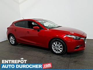 Used 2017 Mazda MAZDA3 GS  Automatique TOIT OUVRANT- A/C -Caméra de Recul for sale in Laval, QC