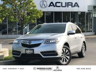 Used 2014 Acura MDX Navigation at for sale in Markham, ON