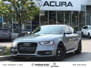 Used 2015 Audi A4 2.0 TFSI quattro Progressiv for sale in Markham, ON