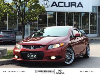 Used 2012 Honda Civic SI COUPE for sale in Markham, ON