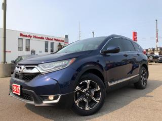 Used 2017 Honda CR-V Touring -  Navi - Leather - Sunroof - Rear Camera for sale in Mississauga, ON