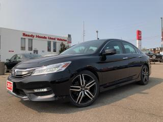Used 2017 Honda Accord Sedan Touring -  Navi - Leather - Sunroof - Rear Camera for sale in Mississauga, ON