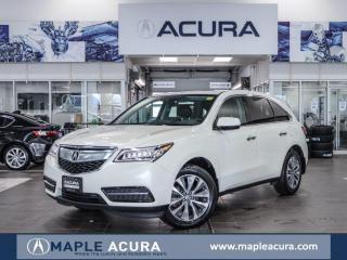 Used 2016 Acura MDX Navigation Package for sale in Maple, ON
