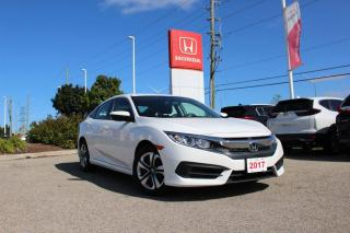 Used 2017 Honda Civic SEDAN LX for sale in Waterloo, ON