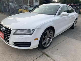 Used 2013 Audi A7 4DR HB QUATTRO 3.0 for sale in Hamilton, ON