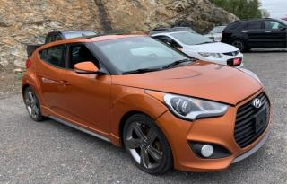 Used 2014 Hyundai Veloster FULLY LOADED 3dr Cpe Turbo for sale in Brampton, ON