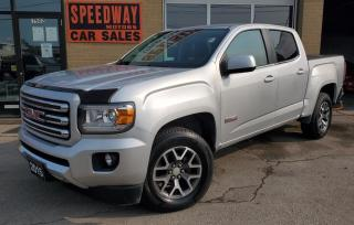 Used 2015 GMC Canyon 4WD Crew Cab SLE - One Owner, Safety Certified for sale in Oakville, ON