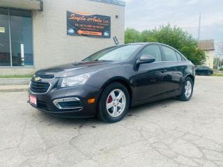 Used 2015 Chevrolet Cruze 4dr Sdn 2lt for sale in Barrie, ON