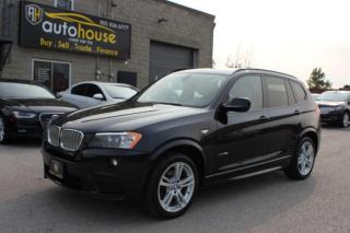 Used 2013 BMW X3 M PKG,AWD,35i,XDRIVE,NAVI,PANAROOF,BACKUP CAMERA for sale in Newmarket, ON