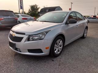Used 2013 Chevrolet Cruze LS Auto for sale in Dunnville, ON