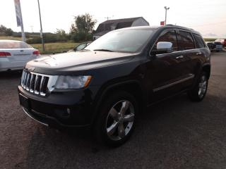 Used 2012 Jeep Grand Cherokee Overland 4WD for sale in Dunnville, ON