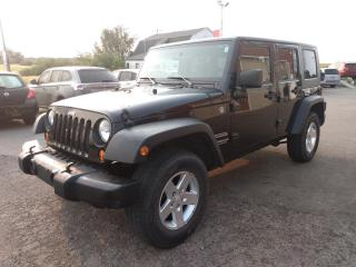 Used 2010 Jeep Wrangler Unlimited Sport 4WD for sale in Dunnville, ON
