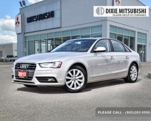 Used 2013 Audi A4 quattro for sale in Mississauga, ON