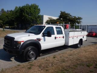 Used 2008 Ford F-550 Crew Cab 4WD  Service Truck Dually Diesel for sale in Burnaby, BC