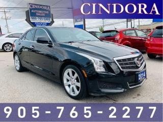 Used 2014 Cadillac ATS Leather, Backup Cam, Heated Seats for sale in Caledonia, ON