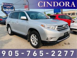 Used 2013 Toyota Highlander 7 Passenger, Backup Cam, AWD for sale in Caledonia, ON