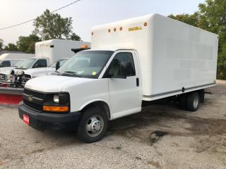 Used 2014 Chevrolet Express 3500 3500! CUBE! PULL DOWN RAMP! for sale in Aylmer, ON