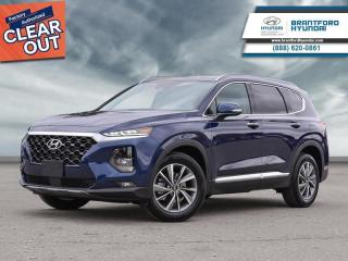 New 2020 Hyundai Santa Fe 2.0T Luxury AWD  - Sunroof - $264 B/W for sale in Brantford, ON