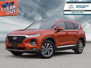 New 2020 Hyundai Santa Fe 2.0T Luxury AWD  - Sunroof - $258 B/W for sale in Brantford, ON