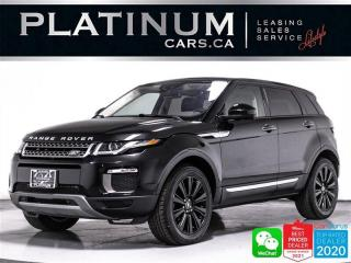 Used 2017 Land Rover Evoque HSE, AWD, NAV, PANO, 360 CAM, BLINDSPOT, HEATED for sale in Toronto, ON