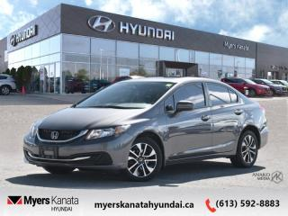 Used 2015 Honda Civic Sedan EX  - $104 B/W - Low Mileage for sale in Kanata, ON