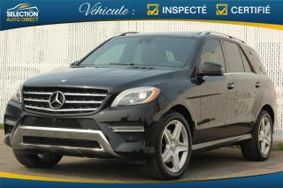 Used 2015 Mercedes-Benz ML-Class ML 350 BlueTEC  4MATIC AMG for sale in Ste-Rose, QC