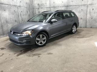 Used 2019 Volkswagen Golf Sportwagen DSG 4MOTION * GARANTIE * CARPLAY ANDROID * for sale in St-Nicolas, QC