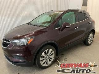 Used 2018 Buick Encore Preferred AWD Mags Caméra Cuir/tissus *Traction intégrale* for sale in Trois-Rivières, QC