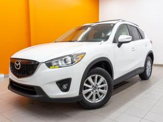Used 2015 Mazda CX-5 GS AWD ALERTE ANGLES MORTS SIÈGES CHAUF TOIT *NAV* for sale in St-Jérôme, QC